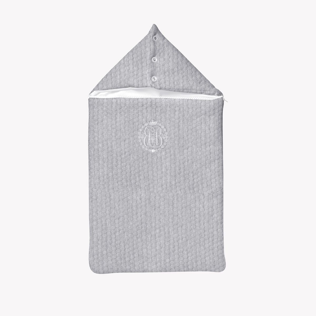 POMME CARAMEL BABY - BIRTH CASUAL CHIC HOODED SLEEPING BAG PC-CMG-NA
