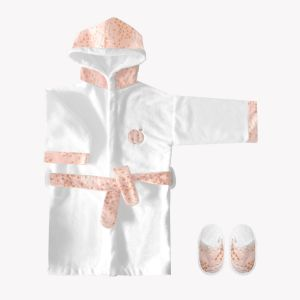 POMME CARAMEL BABY - BIRTH Bathrobes copy of BATHROBE PC-F-P