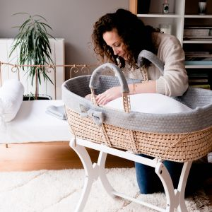 POMME CARAMEL BEBE - NAISSANCE CASUAL CHIC COUFFIN PC-CMG-COUF