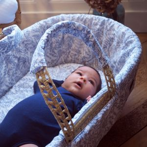 POMME CARAMEL BABY - BIRTH GUSTAVE Moses basket PC-CLG-COUF
