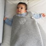 POMME CARAMEL BABY - BIRTH CASUAL CHIC SLEEPING BAG PC-CMG-GN