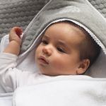 POMME CARAMEL BABY - BIRTH CASUAL CHIC HOODED TOWEL SET PC-CMG-SDB