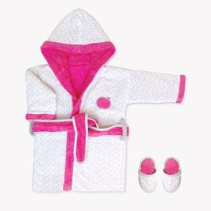POMME CARAMEL BABY - BIRTH Bathrobes BATHROBE PC-CD-P
