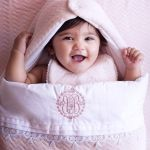 POMME CARAMEL BABY - BIRTH PECHE MELBA HOODED SLEEPING BAG PC-CMP-NA