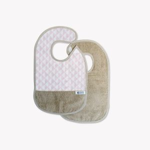 POMME CARAMEL BABY - BIRTH Bibs BIB PC-CDT-B1