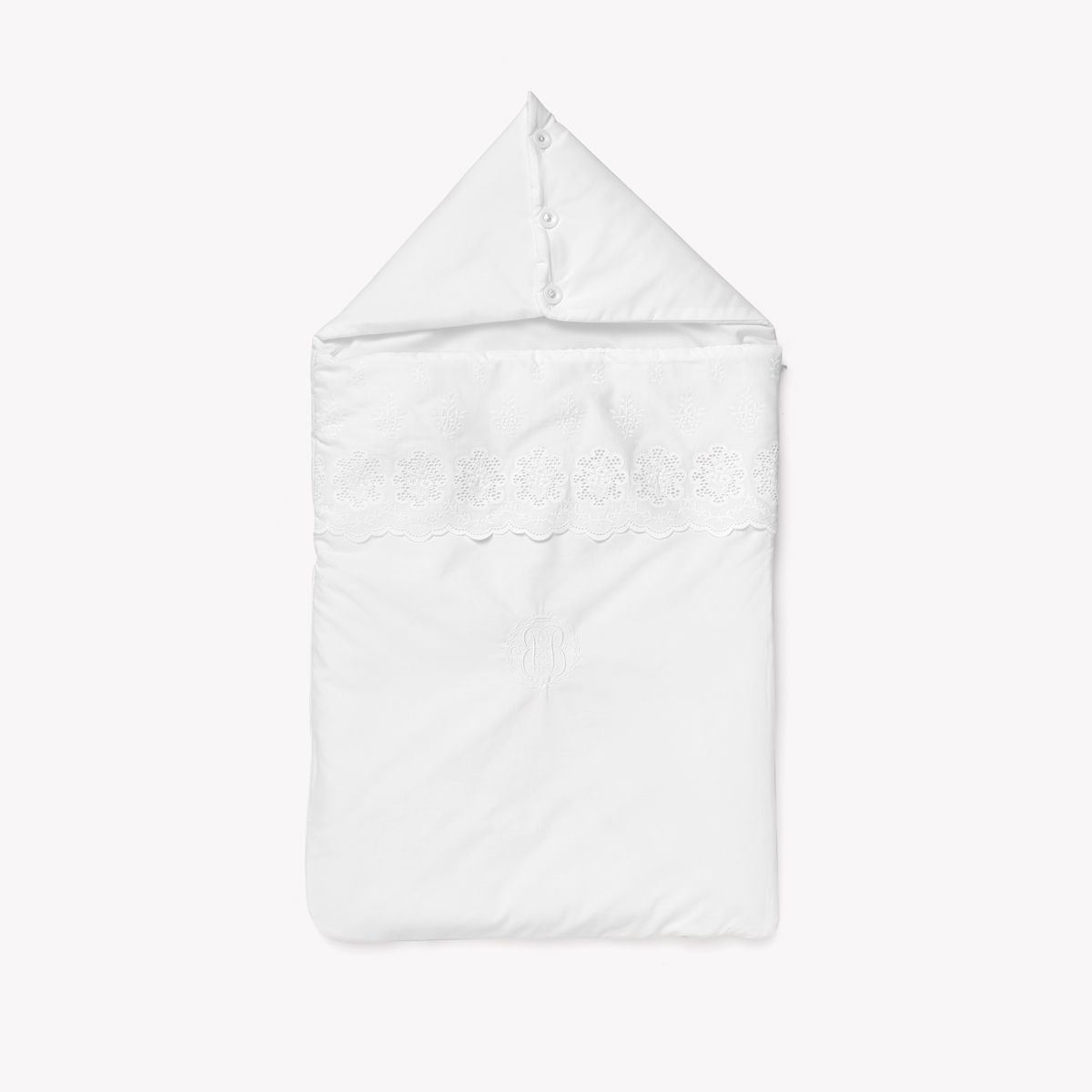 POMME CARAMEL BEBE - NAISSANCE NEIGE NID D'ANGE PERCALE PC-CN-NA1