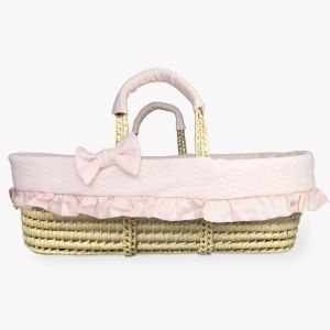 POMME CARAMEL BABY - BIRTH PECHE MELBA Moses basket PC-CMP-COUF