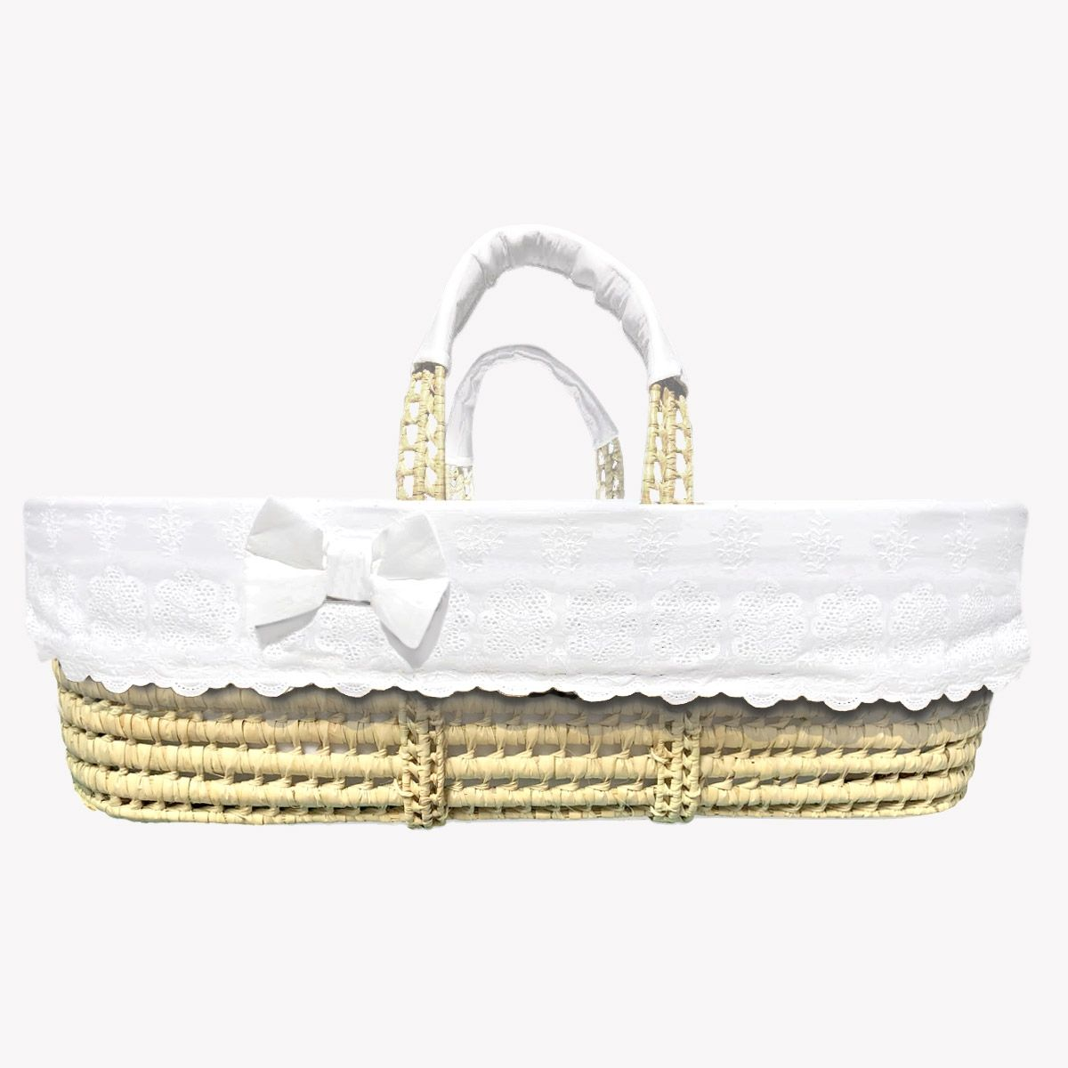 POMME CARAMEL BABY - BIRTH NEIGE Moses basket percal PC-CN-COUF-P